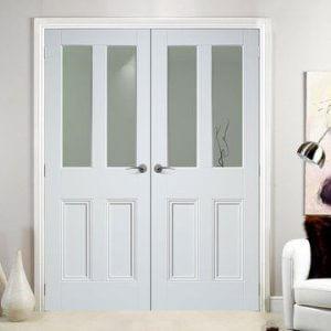 Двукрила интериорна врата за вашия дом