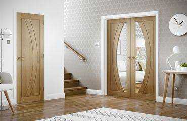 Интериорни врати с каса панел