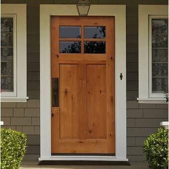 Видове входни врати