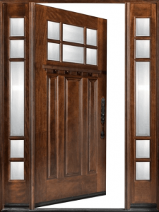 Моделиране на дървена врата